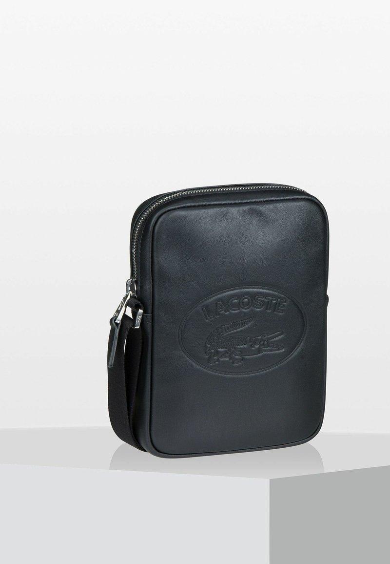 Lacoste - CUIR - Camera bag - black