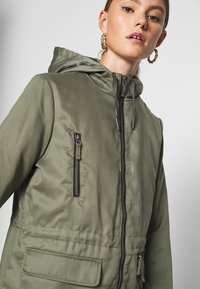 Noisy May - NMMISSI  LONG JACKET - Winter coat - kalamata - 4