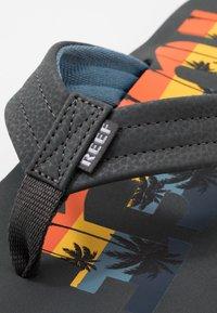 Reef - WATERS - T-bar sandals - grey - 5