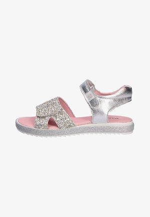 Walking sandals - silver