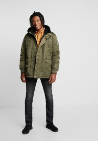 Redefined Rebel - Parka - dark olive - 1