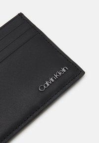 Calvin Klein - CARDHOLDER UNISEX - Wallet - black - 3