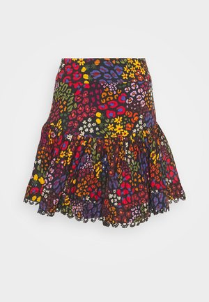 WILD MIX MINI SKIRT - Mini skirt - multi