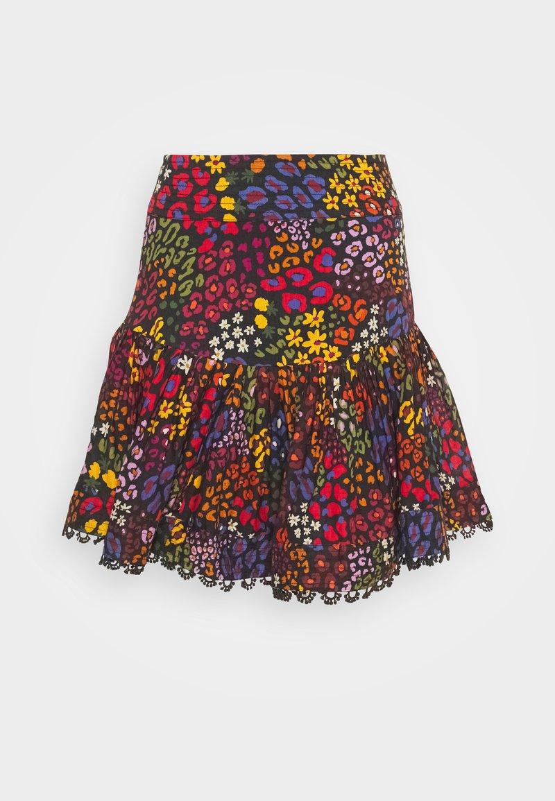 Farm Rio - WILD MIX MINI SKIRT - Mini skirt - multi
