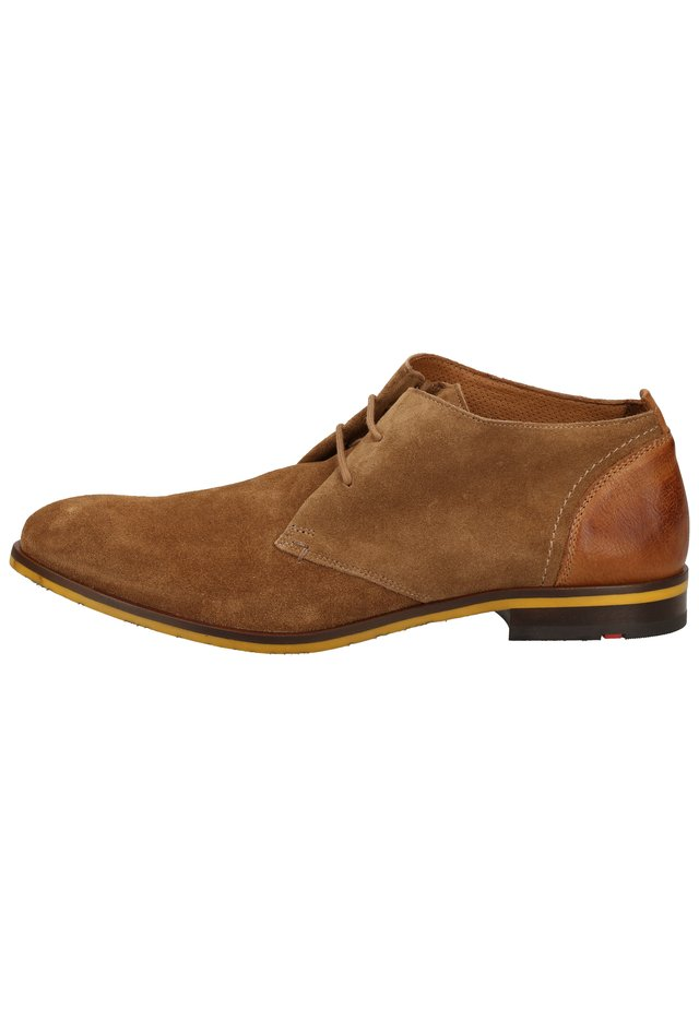 LLOYD HALBSCHUHE - Zapatos con cordones - malt/cigar 32