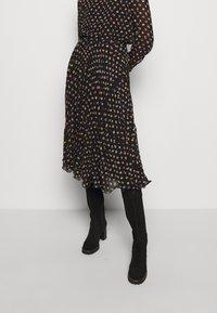 See by Chloé - Spódnica trapezowa - multicolor/black - 6