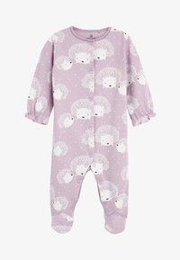 Next - 3 PACK HEDGEHOG SLEEPSUITS - Pyžamo - purple - 1