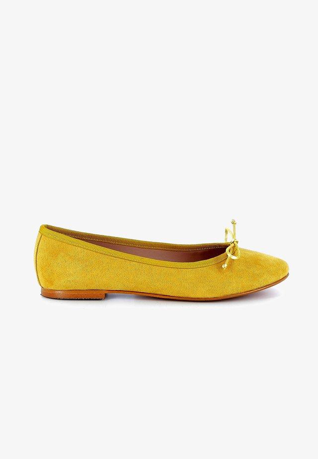 Ballerina's - yellow