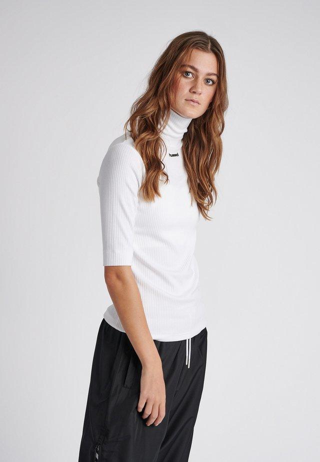 CAROLINE - T-Shirt print - white