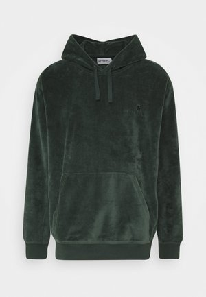 HOODED UNITED SCRIPT  - Hoodie - dark teal