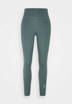 NIKE ONE 7/8 - Leggings - hasta/white