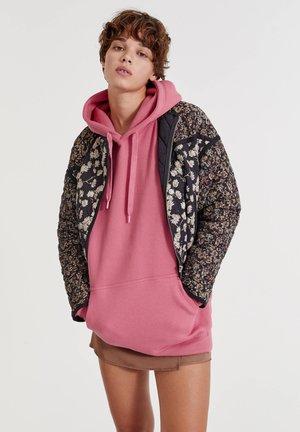 Light jacket - mottled black