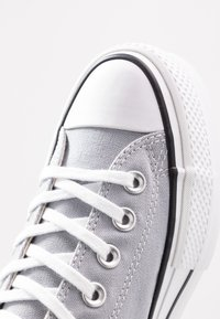Converse - CHUCK TAYLOR ALL STAR LIFT SEASONAL - Trainers - wolf grey/white/black - 2