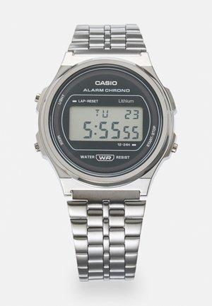 ROUND UNISEX - Digital watch - silver-coloured