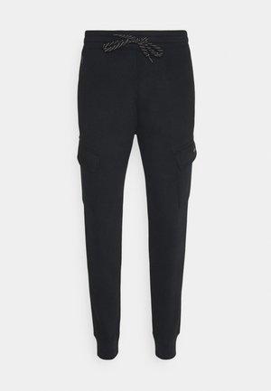 SPORT CARGO JOGGER - Cargo trousers - black cargo