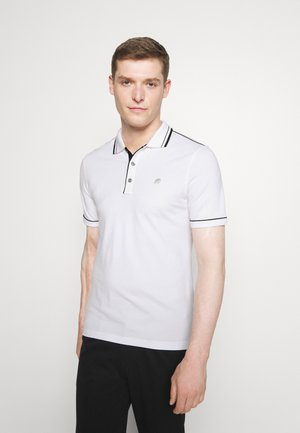 TIPPED - Polo shirt - white