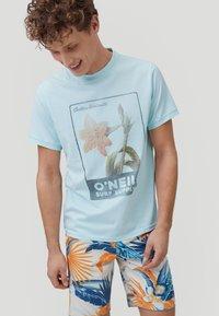 O'Neill - Print T-shirt - bluelight - 0