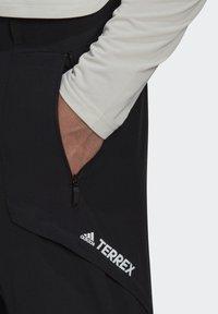 adidas Performance - TERREX ZUPAHIKE TROUSERS - Broek - black - 4