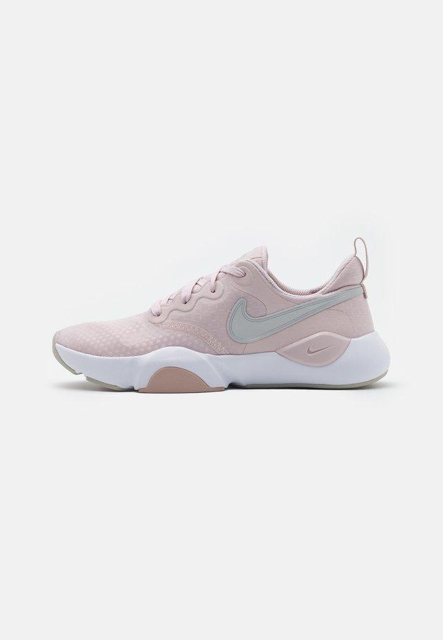 SPEEDREP - Neutral running shoes - barely rose/metallic silver/stone mauve/grey fog/white