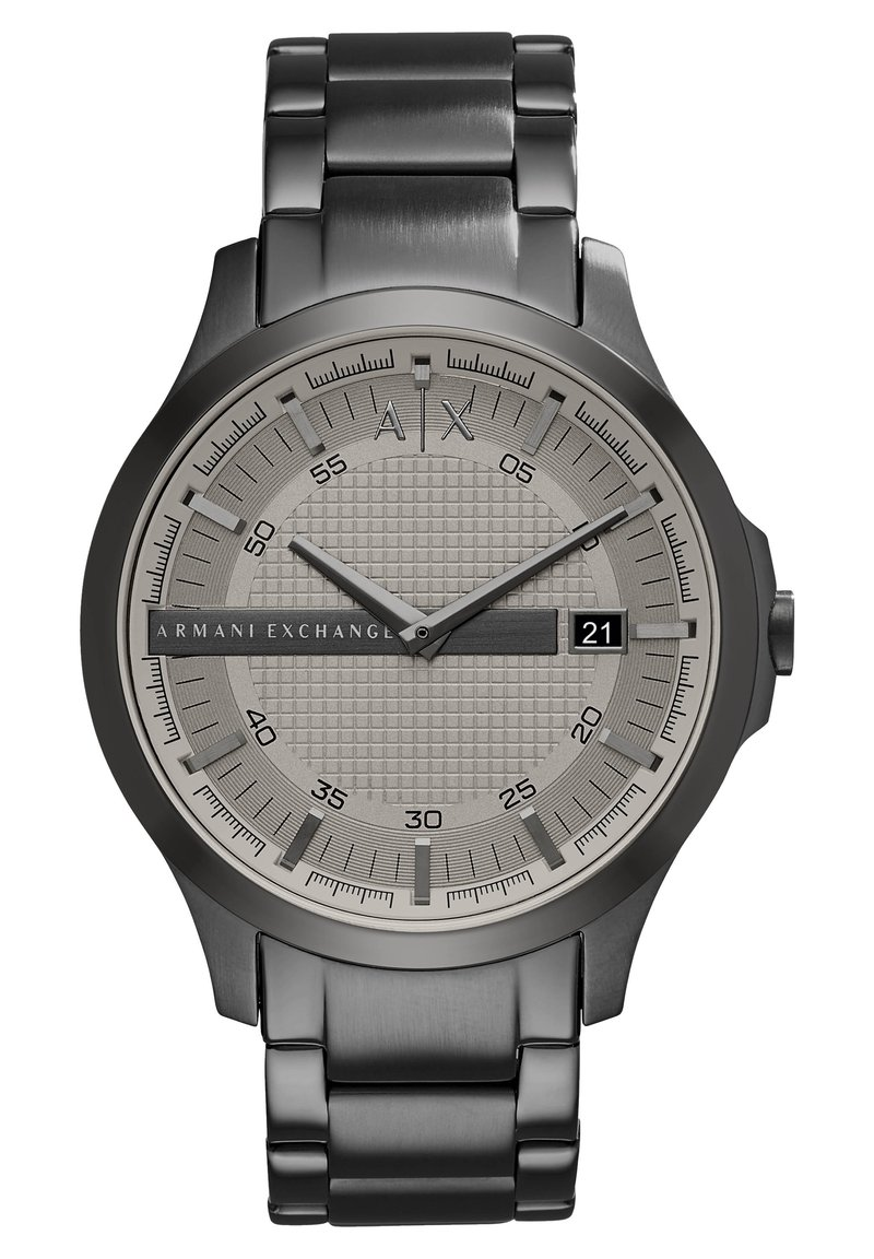 Armani Exchange - Watch - gunmetal