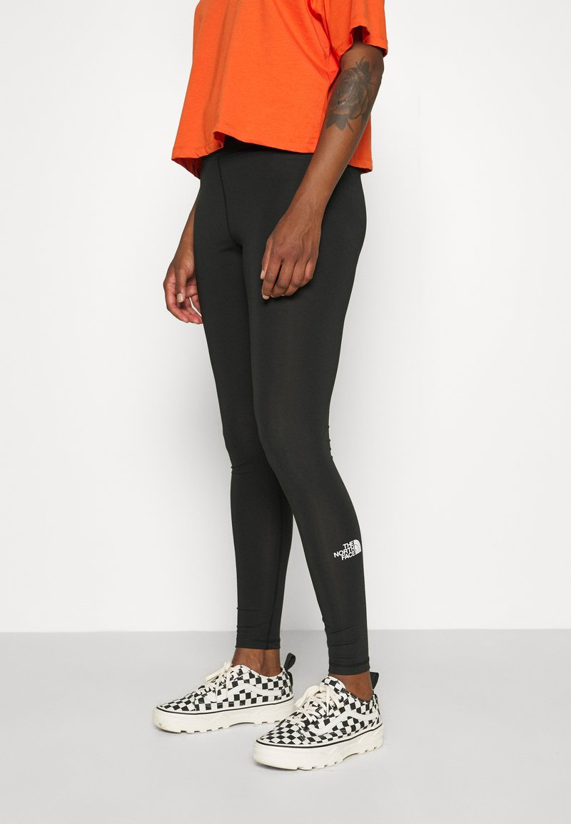 The North Face - HIGH WAISTED - Leggings - black