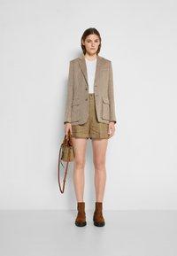 Polo Ralph Lauren - Blazer - brown/tan herringbone - 1