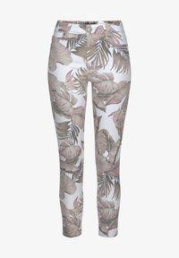 LASCANA - Jeans Skinny Fit - weiß-bedruckt - 0