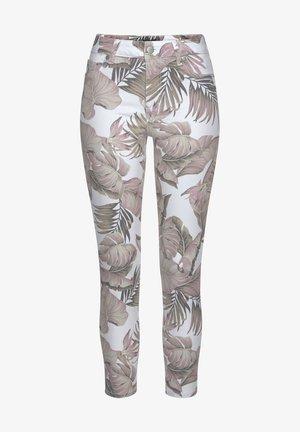 Jeans Skinny Fit - weiß-bedruckt