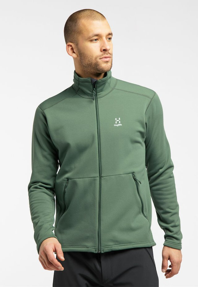 Fleece jacket - fjell green
