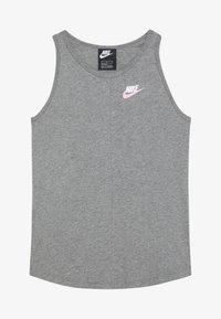 Nike Sportswear - TANK - Débardeur - carbon heather/pink - 2