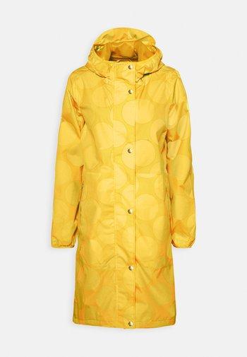 EDITH RAINJACKET - Waterproof jacket - mustard yellow