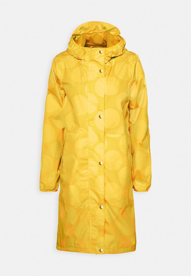 EDITH RAINJACKET - Sadetakki - mustard yellow