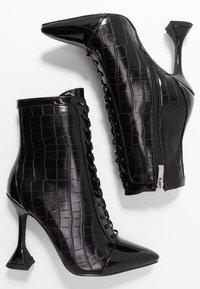 BEBO - KEONA - High heeled ankle boots - black - 3