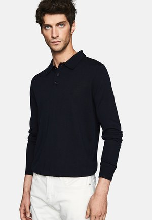 TRAFFORD - Polo shirt - navy blue