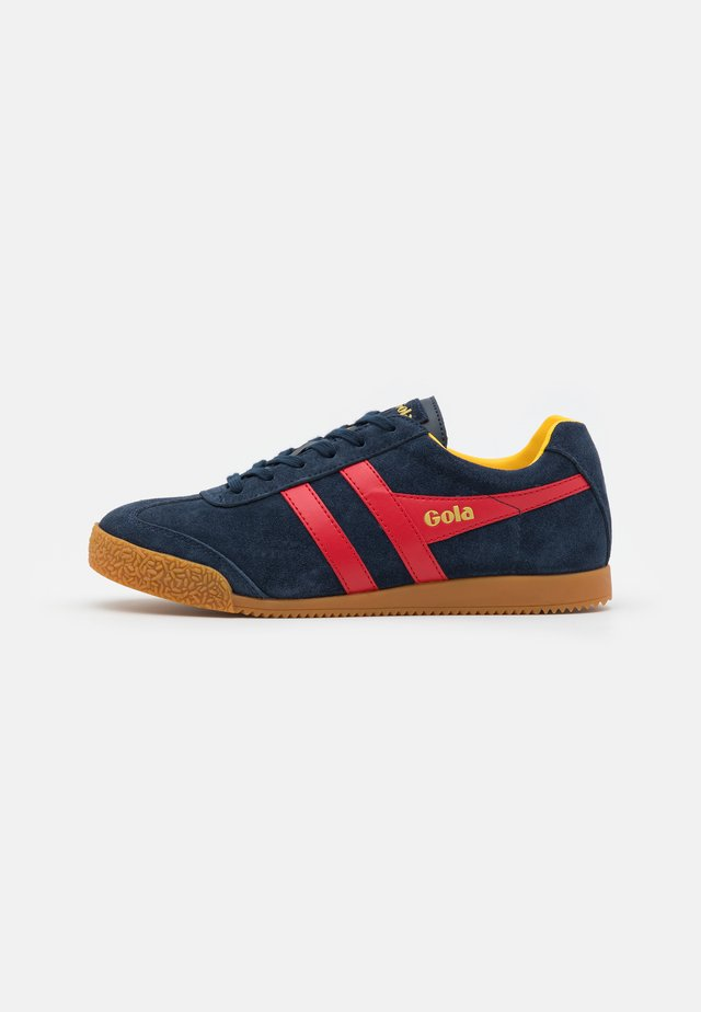HARRIER - Trainers - navy/red/sun
