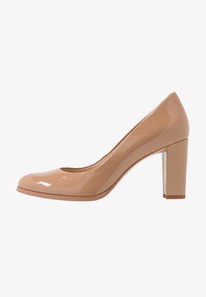 KAYLIN CARA - Classic heels - praline