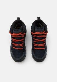 Jack Wolfskin - MTN ATTACK 3 TEXAPORE MID UNISEX - Outdoorschoenen - dark blue/orange - 3