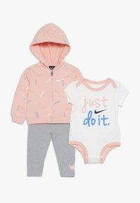 Nike Sportswear - BABY SET - Baby gifts - dark grey heather - 0