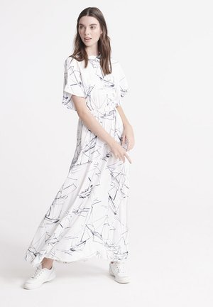 EDIT  - Maxi dress - white print