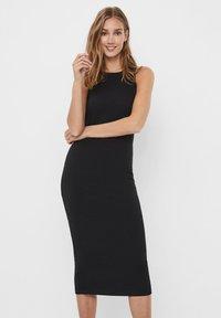 Vero Moda - VMLAVENDER DRESS - Maxi šaty - black - 0