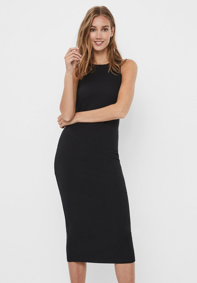 VMLAVENDER DRESS - Maxi šaty - black