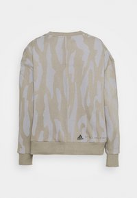 adidas by Stella McCartney - Sweatshirt - clay/grey - 1