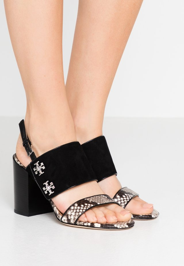 KIRA  - Sandalen met hoge hak - perfect black