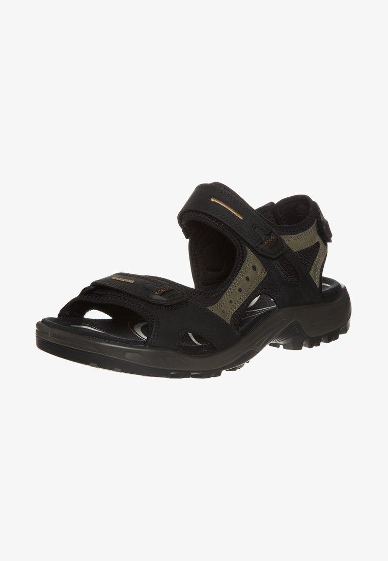 ECCO - OFFROAD - Walking sandals - black/mole/black oil