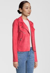 Rino&Pelle - Faux leather jacket - teaberry - 2
