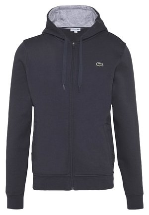 Zip-up hoodie - graphite/argent chine