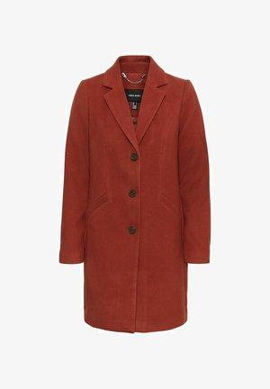 Classic coat - mahogany