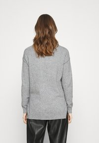 Vila - VIRIL  - Jumper - medium grey melange - 2