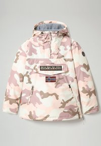 Napapijri - RAINFOREST PRINT CAMO - Winter jacket - camou pink - 1