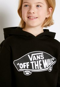 Vans - BY OTW PULLOVER FLEECE BOYS - Hoodie - black-white outline - 4